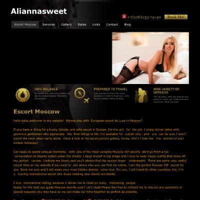 Alianna Sweet Escort Moscow