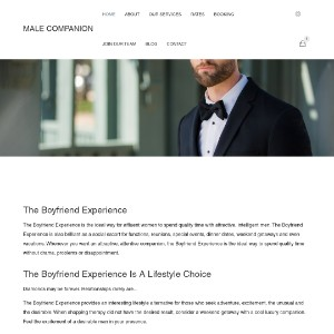 Social Escorts, Dinner Dates and Lifestyle Companions | MALE COMPANION