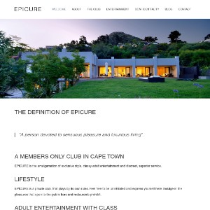 Cape Town Members Only Gentlemen's Club | EPICURE