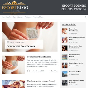 Escort Blog - Overview of escorts throughout the Netherlands