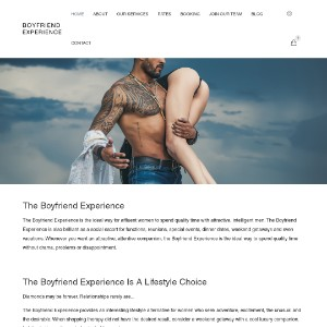 Social Escorts, Dinner Dates and Lifestyle Companions | BOYFRIEND EXPERIENCE