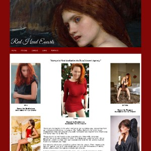 An Exclusive Escort Directory For Red Heads and Men That Love Them