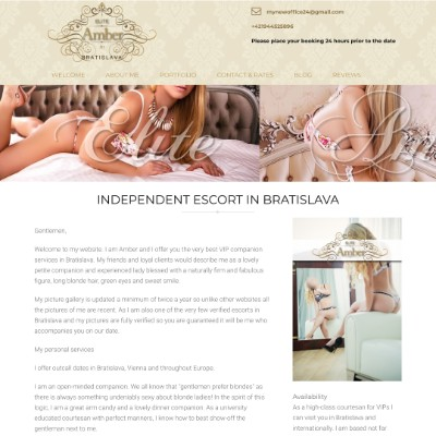Independent escort in Bratislava ready to make all your sex dreams come true