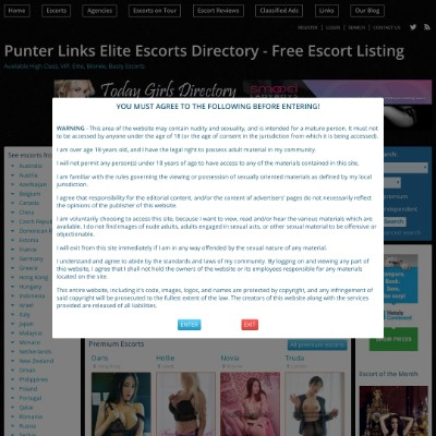 Punterlinks Escorts Directory | UK Escort Directories | Free Paid Listing