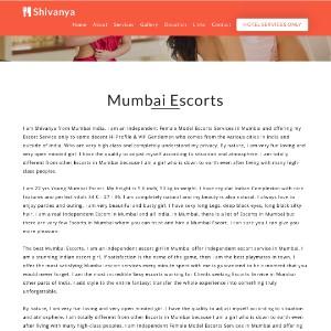 Shivanya: Mumbai Escorts, Mumbai Escorts Services, Independent Escorts Mumbai