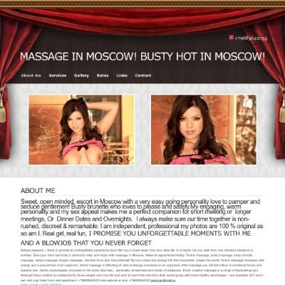 Massage-Busty.com - Escort Girl in Moscow +79685642035 begovav@mail.ru