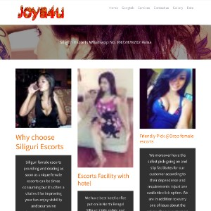 Joya4u Siliguri escorts call for sexy girls female escort service