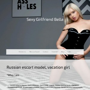 Bellajoin - Russian Escort in Moscow, Vacation Travel girl