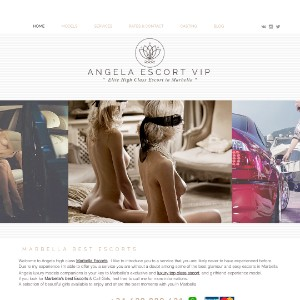 Elite escort in Marbella, Angela Escort Independent High Class