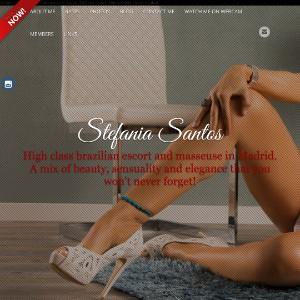 STEFANIA SANTOS - Independent escort girl in Madrid