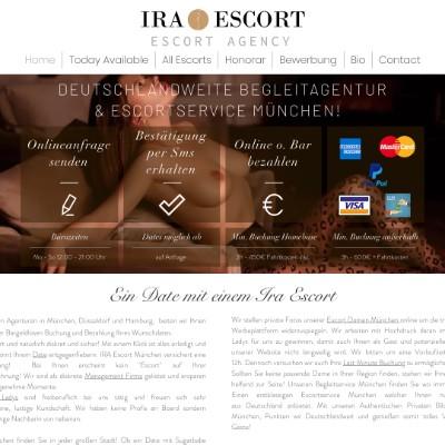 Escort Munich, Escort Dusseldorf & Escort Hamburg ⎪ Ira Escort
